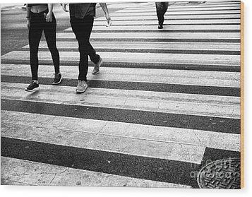 Crossings 239 Wood Print by John Rizzuto