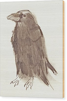 Crow Wood Print by Sarah Lane