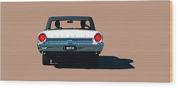 Cruisin' Wood Print by Susan Vineyard