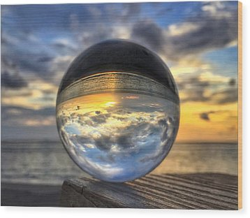 Crystal Ball 1 Wood Print