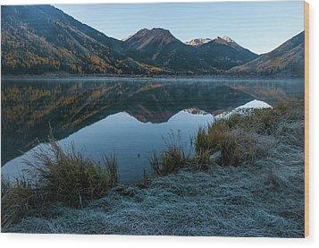 Crystal Lake - 0565 Wood Print