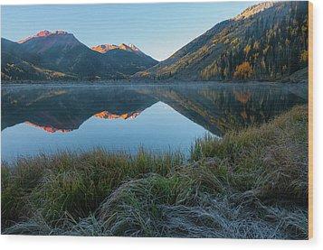 Crystal Lake - 0577 Wood Print