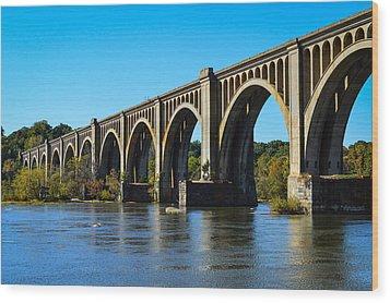 Csx A-line Bridge Wood Print