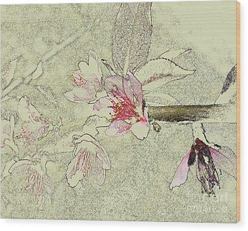 Cu Pinks Wood Print