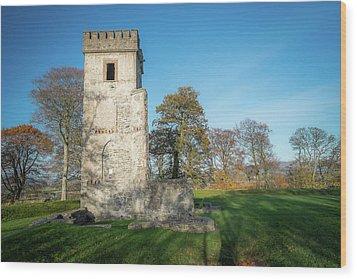 Cuchulains Castle Wood Print