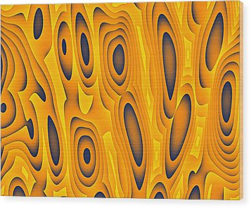 Cuiditheoiri Wood Print by Jeff Iverson