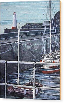 Cullen Beacon Wood Print by Trudy Kepke