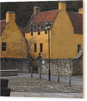 Wood Print featuring the photograph Culross by Jeremy Lavender Photography