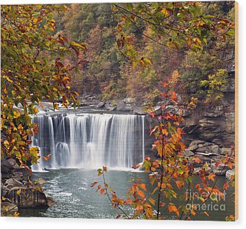 Cumberland Falls Two Wood Print