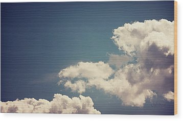 Wood Print featuring the photograph Cumulus by Joseph Westrupp