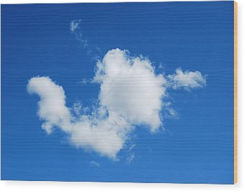 Wood Print featuring the photograph Cumulus by Marilynne Bull