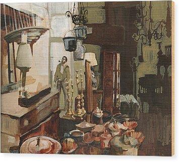 Curio Shop Wood Print