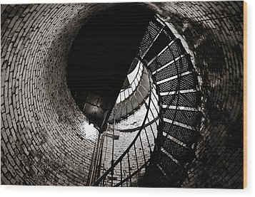 Currituck Spiral II Wood Print by David Sutton