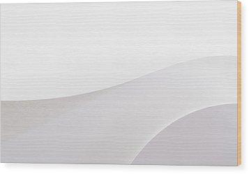 Wood Print featuring the photograph Curves by Yvette Van Teeffelen