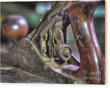 Wood Print featuring the photograph Da Plane II by Douglas Stucky