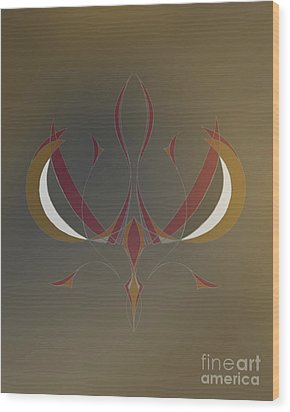 Da Vinci Spider Wood Print