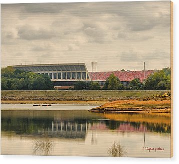 Dabo's First Game Wood Print by Lynne Jenkins