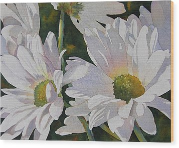 Daisy Bunch Wood Print