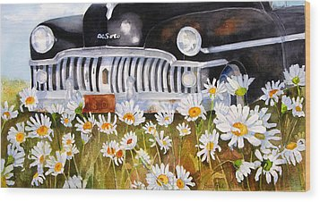 Daisy Desoto Wood Print by Suzy Pal Powell