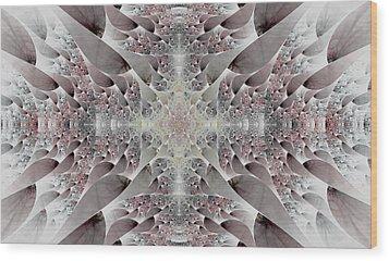 Damask Wood Print by Lea Wiggins