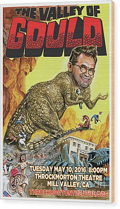 Dana Gould At The Throckmorton Theatre Wood Print