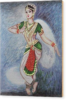 Dance 2 Wood Print