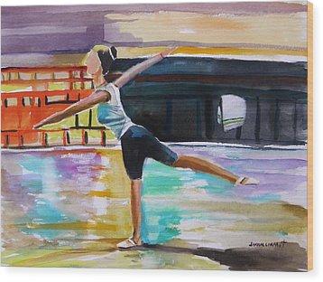 Dance Class Wood Print by John Williams