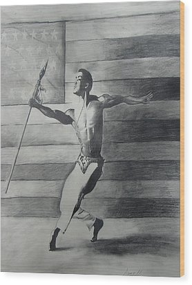 Dance For Freedom Wood Print by Stacy V McClain