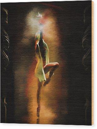 Dance Macabre Wood Print by Bob Orsillo