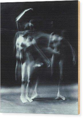 Dance Nude Wood Print