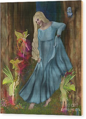 Dance Of The Fairies Wood Print by Sydne Archambault