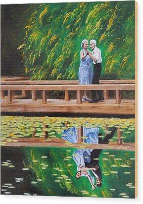 Dance Reflection Wood Print by Jason Marsh