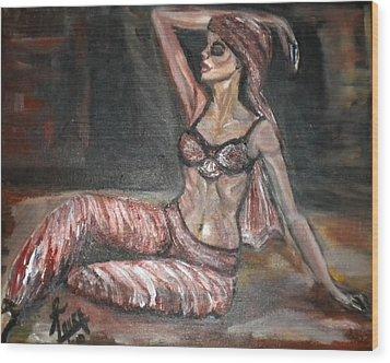 Danced All Nite Wood Print by Laura Fatta