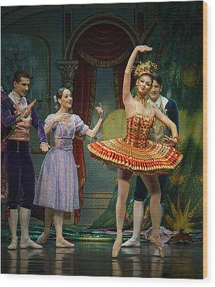Dancing Doll Wood Print
