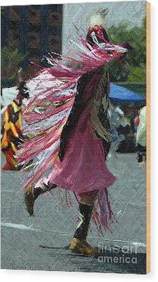 Dancing Wood Print by Kathleen Struckle