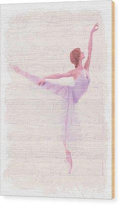 Dancing Melody Wood Print by Steve K