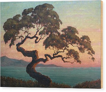 Dancing Pine Wood Print by Michael Orwick