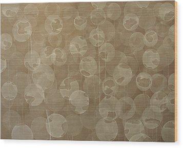 Dandelion Wood Print by Jitka Anlaufova