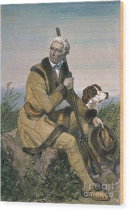 Daniel Boone (1734-1820) Wood Print by Granger
