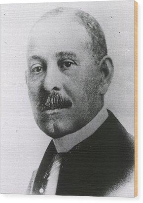 Daniel H. Williams 1856-1931 Wood Print by Everett