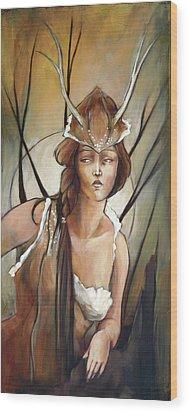Daphne Wood Print