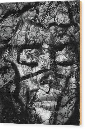 Daphne Sacrifice Wood Print by Angelina Vick