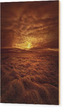 Wood Print featuring the photograph Dare I Hope by Phil Koch