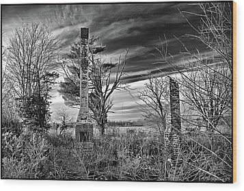 Wood Print featuring the photograph Dark Days by Brian Wallace