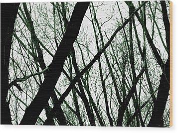 Dark Limbs Wood Print