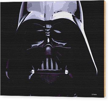 Dark Side Wood Print by George Pedro