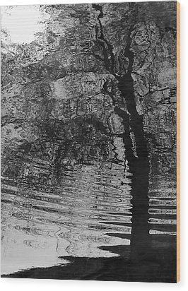 Dark Vision Wood Print