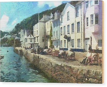 Bayards Cove Dartmouth Devon  Wood Print