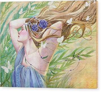 Daughter Of The King Wood Print by Sara Burrier