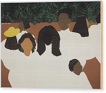 Daughters Wood Print